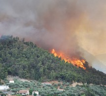 Μεγάλη φωτιά στη Σαλαμίνα