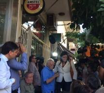"""Στη Νίκαια για ουζάκι η """"Λαϊκή Ενότητα"""""""