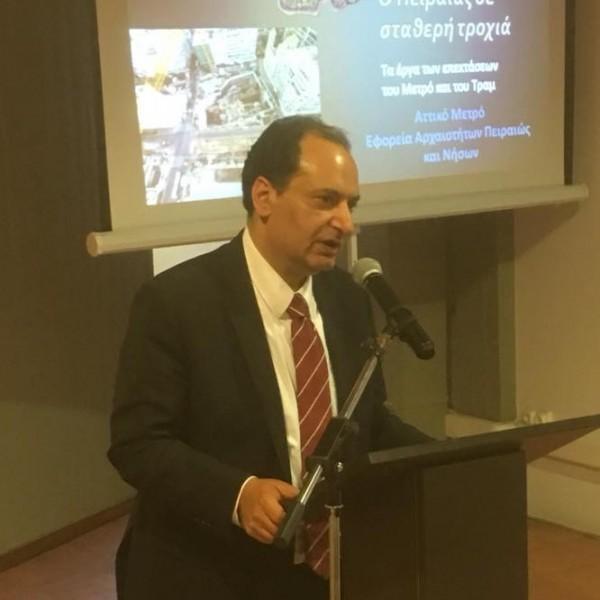 Αρχές του 2019 ο Πειραιάς θα έχει Τραμ με…. καταχωμένες αρχαιοτήτες