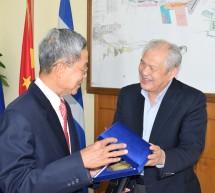 Επίσημη επίσκεψη του Πρέσβη της Σιγκαπούρης στoν ΟΛΠ