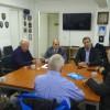 Επίσκεψη Μπουτσικάκη στα γραφεία της Ενωσης Απόστρατων Αξιωματικών Λιμενικού Σώματος