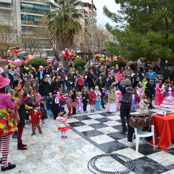 «Φτιάξε τη δική σου μάσκα» στο 25ο Καρναβάλι Δήμου Νίκαιας-Αγ.Ι. Ρέντη