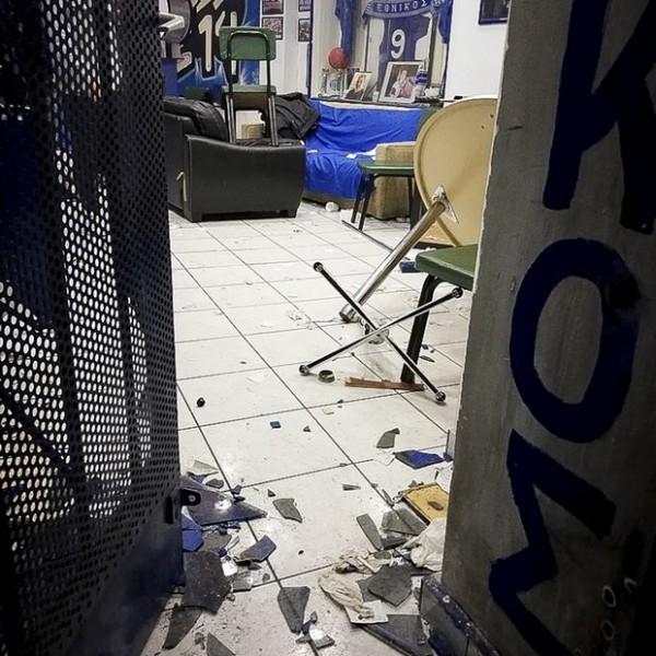 "N. Bλαχάκος:""Καταδικάζουμε την επίθεση στον Σύνδεσμο Φιλάθλων του Εθνικού"""