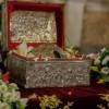 Η Τίμια Κάρα του Αγίου Παρθενίουστην Ευαγγελίστρια