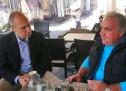 Συνάντηση Μπουτσικάκη με τον Πρόεδρο του Συλλόγου Λεμβούχων Πόρου