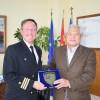 Εθιμοτυπική επίσκεψη στον ΟΛΠ του Commanding Officer του Αμερικανικού USS MITSCER