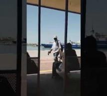 «Σύνταξη» στο λιμάνι…