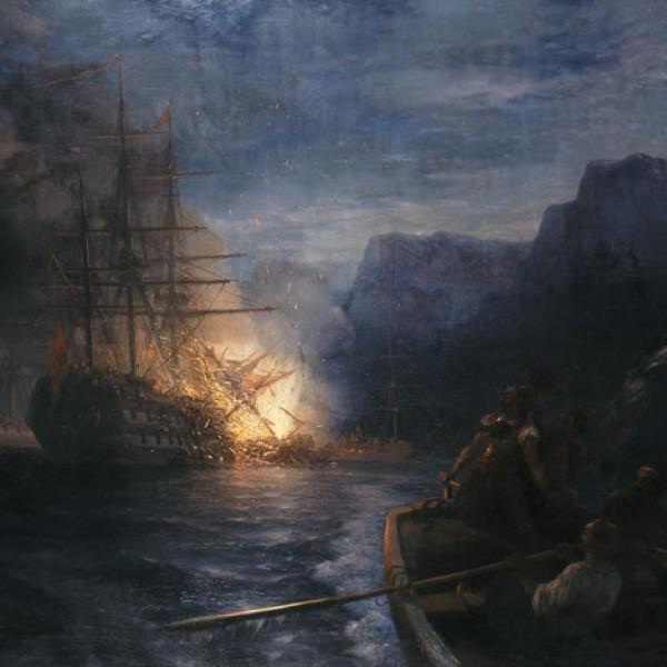 Σαν σήμερα η πυρπόληση της τουρκικής ναυαρχίδας από τον Κανάρη