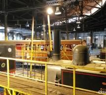 Το Σιδηροδρομικό Μουσείο στο ιστορικό Μηχανοστάσιο της Λεύκας