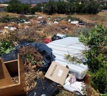 """Σαλαμίνα: Χωματερές – """"βόμβες"""" στην άκρη του δρόμου (video)"""