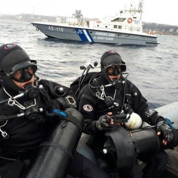 Ανασύρθηκαν οι σοροί 2 ανδρών που επέβαιναν στο ελικόπτερο