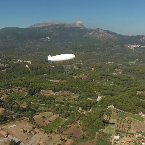 Σε δοκιμαστική επιχείρηση το αερόστατο 24ωρης επιτήρησης των θαλασσίων συνόρων μας