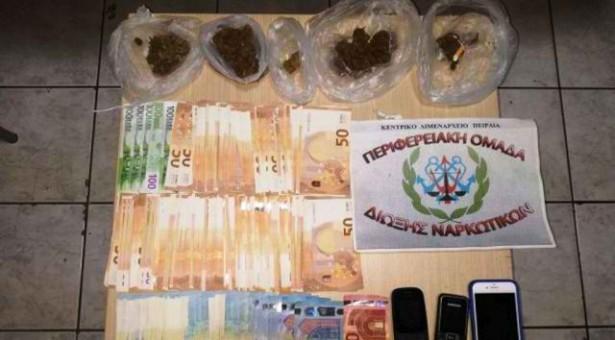 Σύλληψη 36χρονου για ναρκωτικά στον Πειραιά