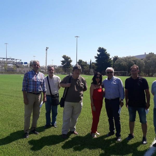 Παραδόθηκε το γήπεδο ποδοσφαίρου στο ΣΕΦ