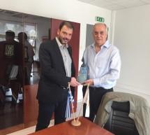 Επίσημη επίσκεψη του Δημάρχου Αγ. Δομετίουστον Δήμο Κορυδαλλού