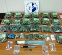 Δύο συλλήψεις για εμπορία και διακίνηση ναρκωτικών σε Νίκαια και Κορυδαλλό