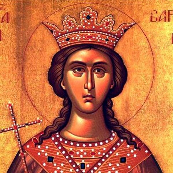 Αγία Βαρβάρα: Η Μεγαλομάρτυς της Χριστιανοσύνης