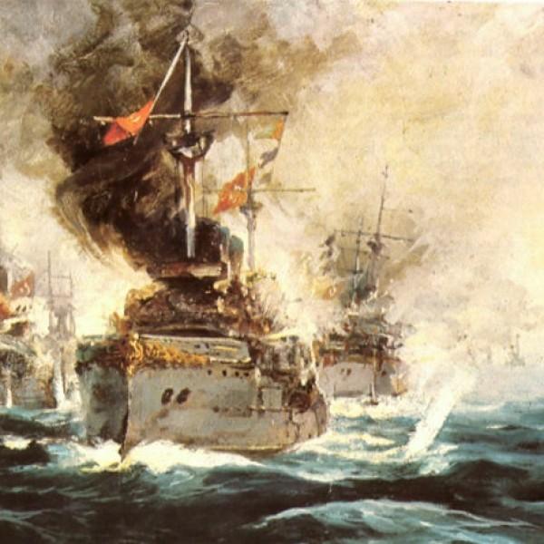 Σαν σήμερα ο ναύαρχος Κουντουριώτης κατατροπώνει τον τουρκικό στόλο στα Δαρδανέλια