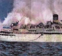 """1963: Σαν σήμερα βυθίστηκε το κρουαζιερόπλοιο """"Λακωνία"""" στον Ατλαντικό"""