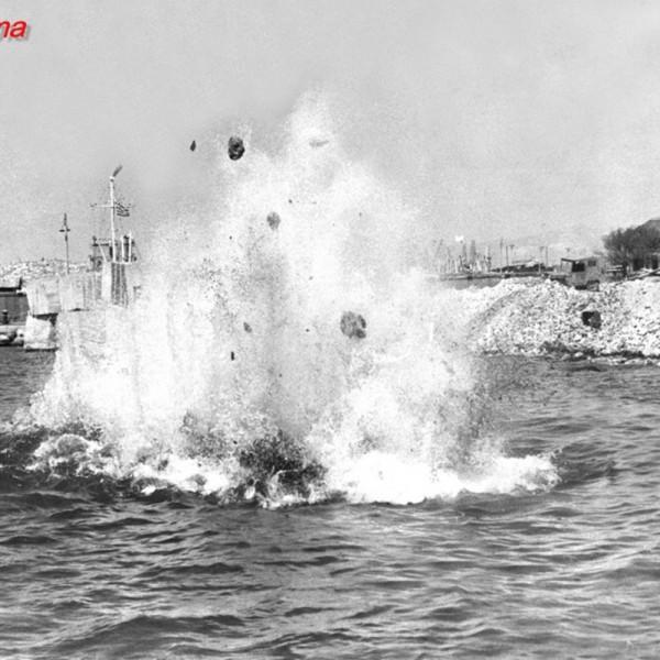 1945: Πολύνεκρο ναυτικό δυστύχημα έξω από το λιμάνι του Πειραιά