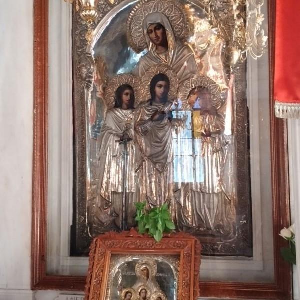 Πειραιάς: Πανηγυρίζει ο Ιερός Ναός της Αγίας Σοφίας
