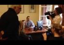 """Ο Κασιδιάρης πέταξε έξω το BBC γιατί είπαν τα Σκόπια """"Μακεδονία"""""""