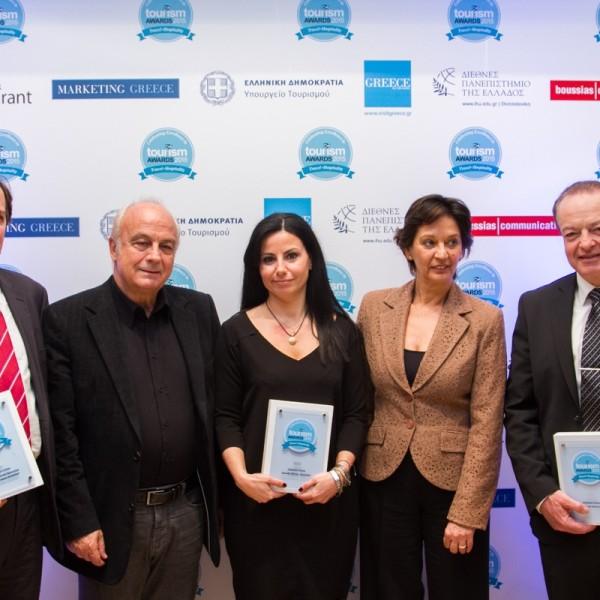 Nικήτρια με 3 βραβεία στα Tourism Awards 2015 η Celestyal Cruises