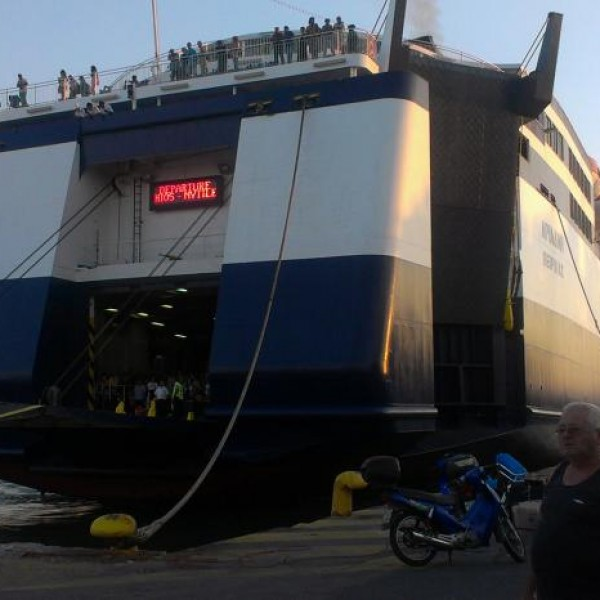 Τηλεφώνημα για βόμβα σε πλοίο στο λιμάνι του Πειραιά