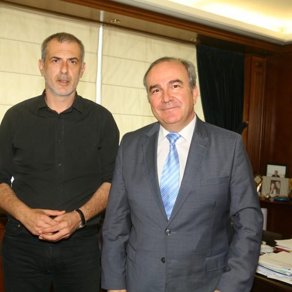 Συνάντηση Μώραλη με τον Πρόεδρο της ΣΤΑ.ΣΥ.