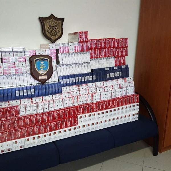 Σύλληψη για λαθραία τσιγάρα στη Σαλαμίνα