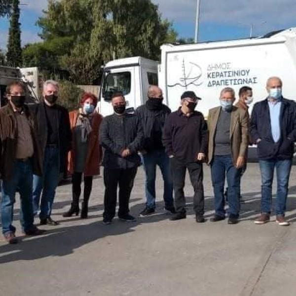 Σε νέο αποκλεισμό του ΣΜΑ Σχιστού προχωρά ο Δήμος Κερατσινίου-Δραπετσώνας