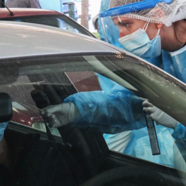 Rapid tests σε επιβάτες οχημάτων στου Ρέντη