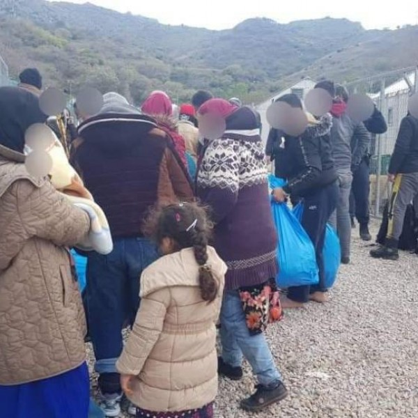 Eξαρση αφίξεων παράνομων μεταναστών στη Λέσβο