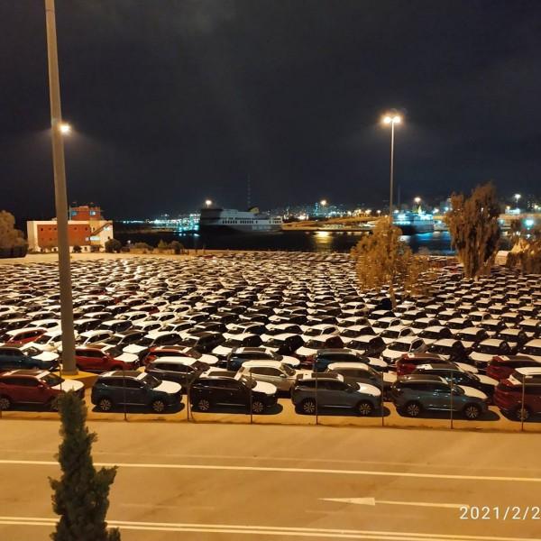 Λιμάνι Πειραιά: Σε car terminal μετέτρεψε η Cosco το Παλατάκι