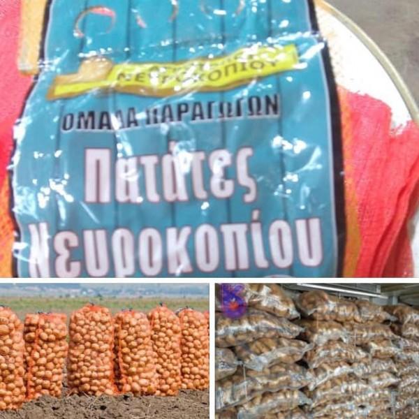 Παραγωγοί Νευροκοπίου: Σταματήστε τις εισαγωγές πατάτας αμφιβόλου ποιότητας