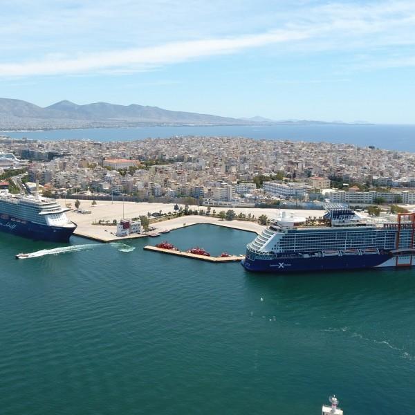 Το λιμάνι του Πειραιά υποδέχτηκε το πρώτο Κρουαζιερόπλοιο της σεζόν