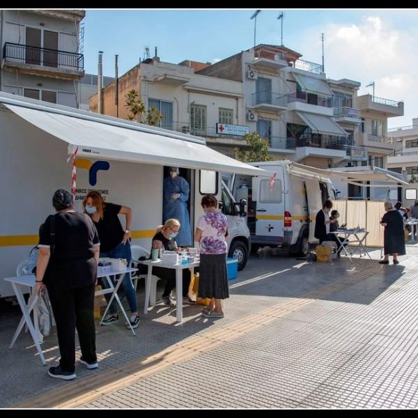 Νίκαια: Δωρεάν rapid test στην πλατεία του Αγ. Νικολάου