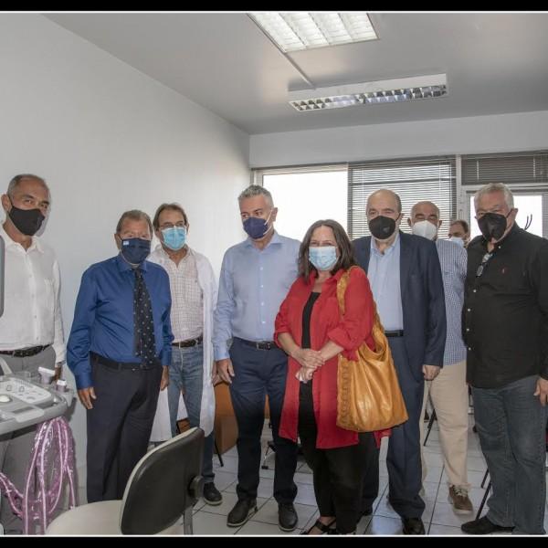 Νέο σύγχρονο υπερηχοτομογράφο απέκτησε το Κέντρο Υγείας Νίκαιας