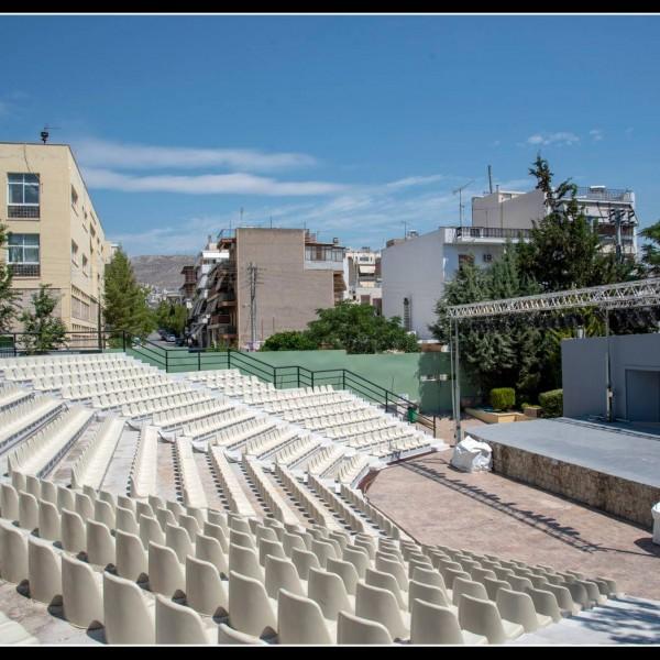 Αναβαθμίστηκε το Δημοτικό Κηποθέατρο Νίκαιας