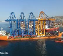 ΟΛΠ Α.Ε.: Κατέφθασε στο Λιμάνι του Πειραιά η Γερανογέφυρα Φορτοεκφόρτωσης