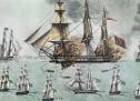 1824: O τουρκικός στόλος καταναυμαχείται απ' τον Ανδρέα Μιαούλη στον Γέροντα