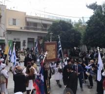 Στον Πειραιά η εικόνα της Παναγίας Λαυριώτισσας και το Λάβαρο της Επανάστασης του '21